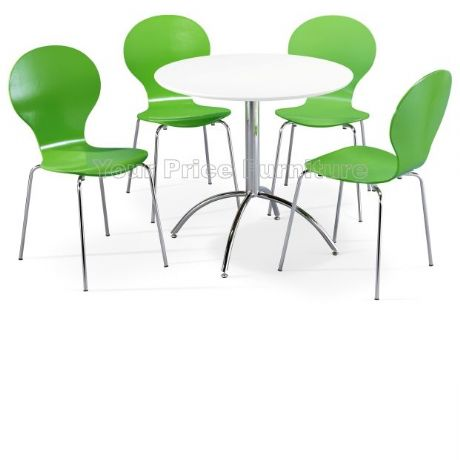 Kimberley Dining Set White & 4 Green Chairs Sale Now On Your Price Furniture